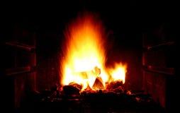 Fuego casero Imágenes de archivo libres de regalías