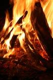 Fuego de Ablazing Foto de archivo libre de regalías