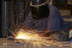 Fuego de acero Imagen de archivo