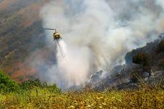 Fuego de Barnett Imagen de archivo