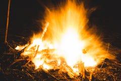 Fuego de Conflagrant Fotografía de archivo