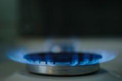 Fuego de Gass Foto de archivo libre de regalías