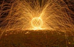 Fuego de giro fotos de archivo libres de regalías