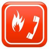 Fuego de la emergencia libre illustration