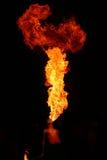 Fuego de la escupida Fotos de archivo libres de regalías
