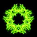 Fuego de la estrella Fotos de archivo libres de regalías