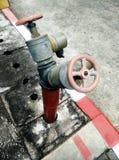 Fuego de la fontanería Foto de archivo libre de regalías