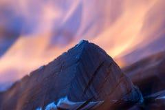 Fuego de la llama Imagen de archivo libre de regalías