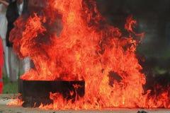 Fuego de la potencia. Fotos de archivo libres de regalías