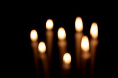 Fuego de la tarjeta del día de San Valentín Imagen de archivo libre de regalías