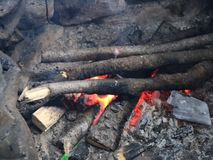 Fuego de madera