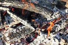 Fuego de madera /campfire/chimenea fotografía de archivo libre de regalías