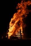 Fuego de Pascua Fotos de archivo libres de regalías