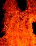 Fuego de Satan Imagenes de archivo