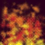 Fuego de semitono abstracto Fotos de archivo libres de regalías