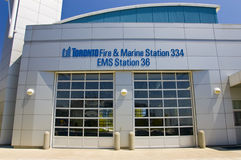Fuego de Toronto y estación marina Foto de archivo libre de regalías