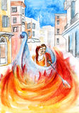 Fuego del amor Imagenes de archivo