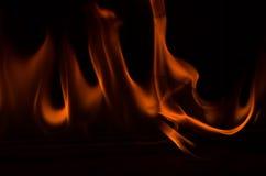 Fuego 5 del baile Foto de archivo