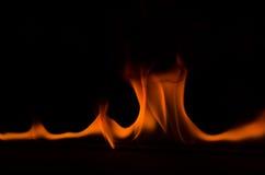 Fuego 4 del baile Imagen de archivo