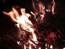 Fuego del Bon imágenes de archivo libres de regalías