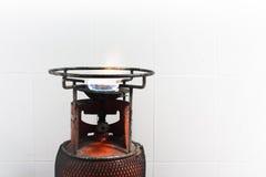 Fuego del gas Foto de archivo