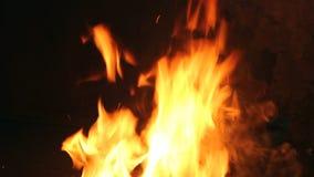 Fuego del herrero almacen de metraje de vídeo