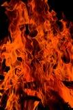 Fuego del infierno imagen de archivo