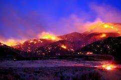 Fuego del Ironwood Fotos de archivo