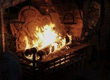 Fuego del rugido foto de archivo libre de regalías
