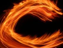 Fuego divertido foto de archivo