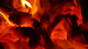 Fuego en chimenea metrajes