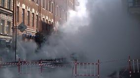 Fuego en la ciudad Fuego fuerte Humo grande metrajes