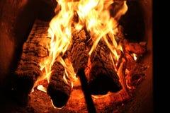 Fuego en mi casa Foto de archivo libre de regalías