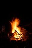 Fuego en montañas Fotografía de archivo libre de regalías