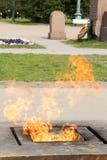 Fuego eterno Foto de archivo libre de regalías