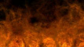 Fuego fuerte almacen de metraje de vídeo