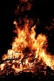 Fuego grande Foto de archivo