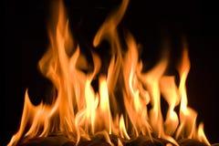 Fuego grande Foto de archivo libre de regalías