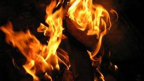 Fuego ideal Imagenes de archivo