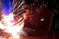 Fuego, llama, demostración Fotografía de archivo