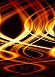 Fuego loco Imagen de archivo libre de regalías