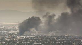 Fuego México Foto de archivo