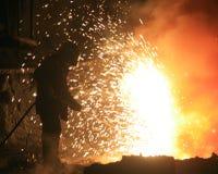 Fuego man3 Imagen de archivo