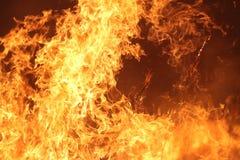Fuego manejado de la pradera fotos de archivo libres de regalías