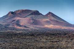 The Fuego Mountains Royalty Free Stock Photos