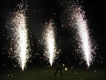 Fuego-muestre Foto de archivo libre de regalías