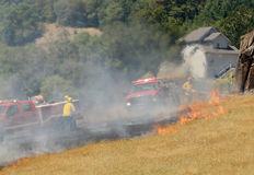 Fuego natural Fotos de archivo