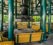 Fuego Pit And Benches 2 Foto de archivo libre de regalías