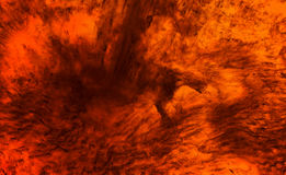 Fuego profundo Foto de archivo libre de regalías