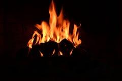 Fuego real hermoso Imagenes de archivo